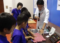 革工芸体験 in キッザニア東京(特別プログラム)